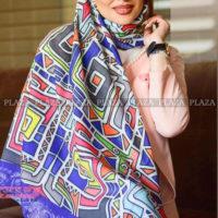 پرطرفدارترین مدلهای روسری رنگارنگ دخترانه و زنانه ۲۰۱۹ – ۹۸