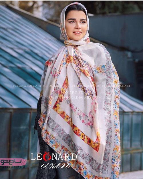 روسری با طرح های ایرانی زیبا جدید
