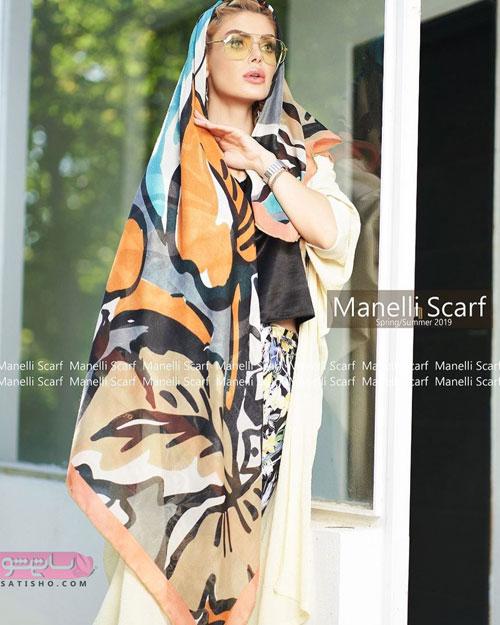 مدل روسری و شال دخترانه فانتزی