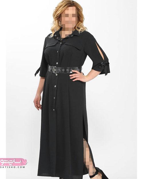 لباس زنانه مناسب افراد سایزبزرگ