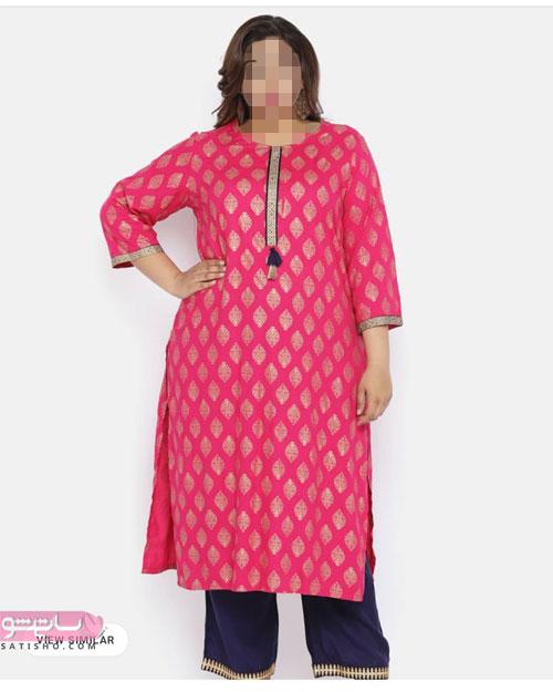 لباس زنانه سنتی برای خانم های سایزبزرگ