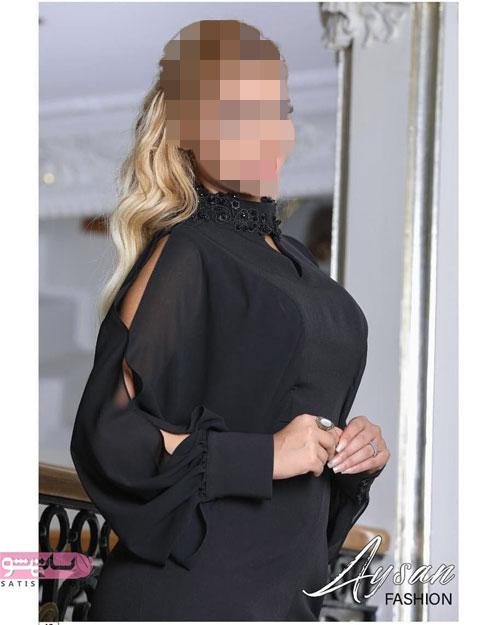 مدل لباس مجلسی کوتاه 2019