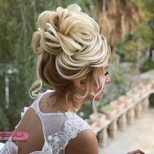 مدل مو عروس جدید شیک