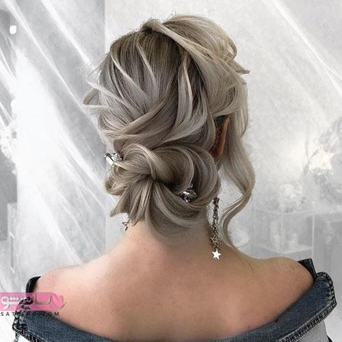 مدل شینیون عروسی جدید