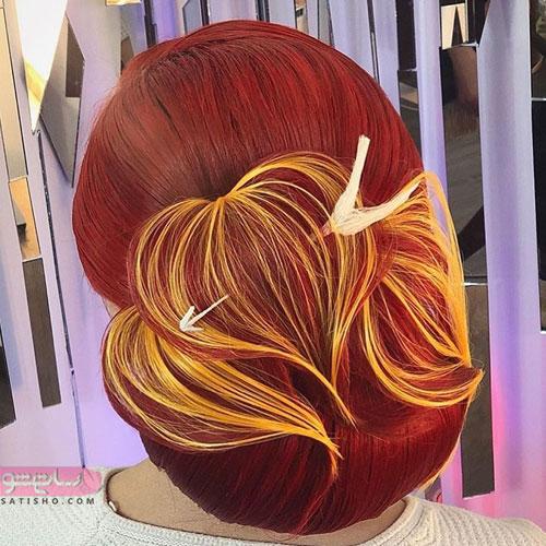 زیباترین مدل موی عروس جهان