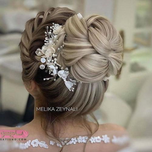 زیباترین مدل موی عروس در جهان