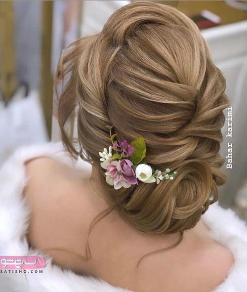 زیباترین مدل مو عروس در اینستاگرام