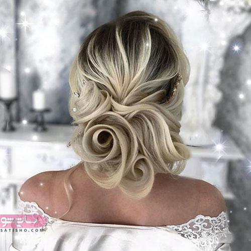 مدل موی عروس جدید 2019