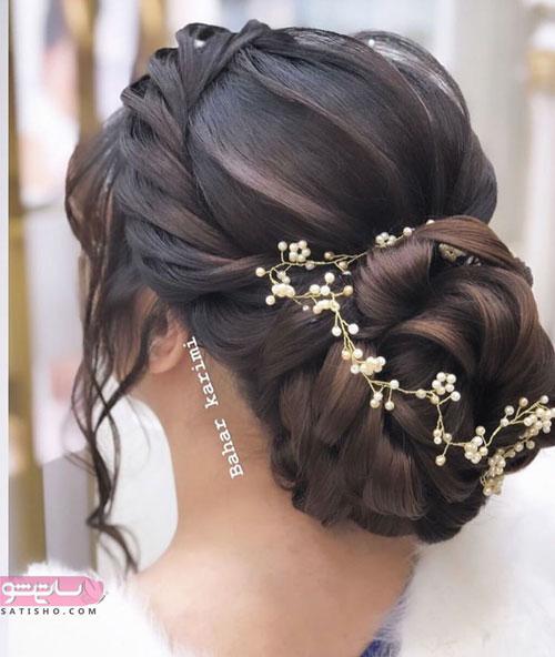 زیباترین مدل موی عروس دنیا جم و باز