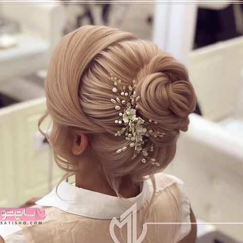 مدل شینیون عروس جدید اینستاگرام