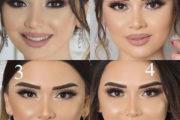 مدل های جدید آرایش عروس 2019