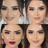۵۱ عکس از مدل های جدید آرایش عروس ۲۰۱۹