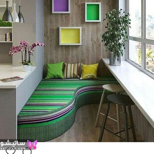 بهترین ایده ها برای بالکن آپارتمان