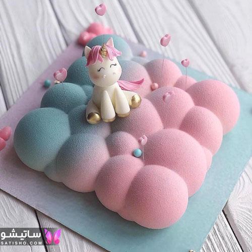 کیک های لاکچری برای تولد دخترم