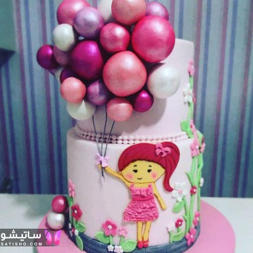 شیک ترین مدل کیک تولد دخترونه