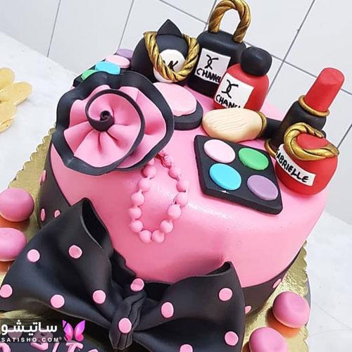 مدل کیک به شکل لواز آرایشی