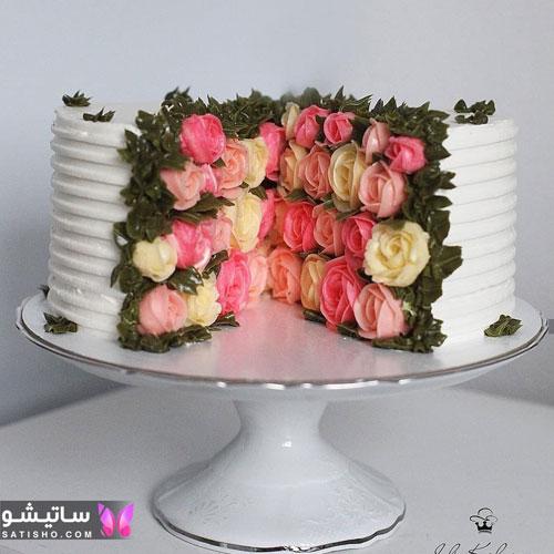 تزیین کیک تولد بسیار شیک و جذاب