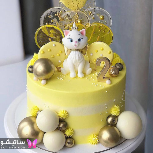 کیک های مدرن برای تولد