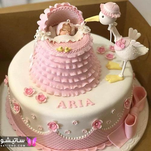 کیک تولد جدید دخترانه 98