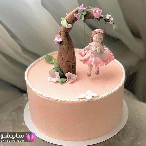 عکسهای کیک تزیین شده برای تولد 98