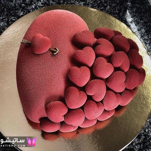 کیک تولد خامه ای لاکچری