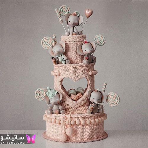 جدیدترین تزیین کیک دخترانه