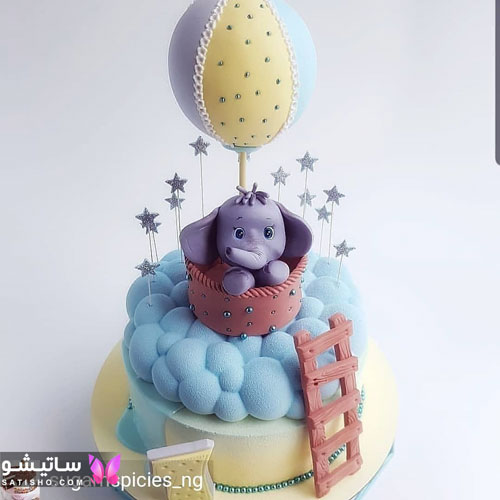 ایده های خلاقانه برای کیک های تولد