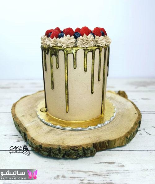 عکس کیک تولد عاشقانه و رمانتیک