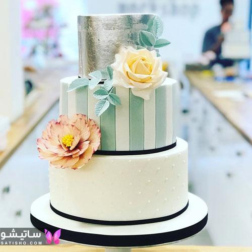 نمونه کیک تولد ساده و زیبا