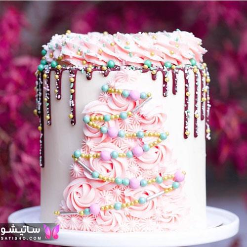 مدل کیک جشن تولد دخترانه