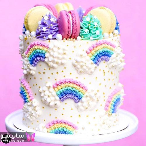 کیک تولد کودک ساده و شیک