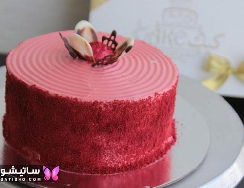 مدل کیک تولد دخترانه ساده و شیک