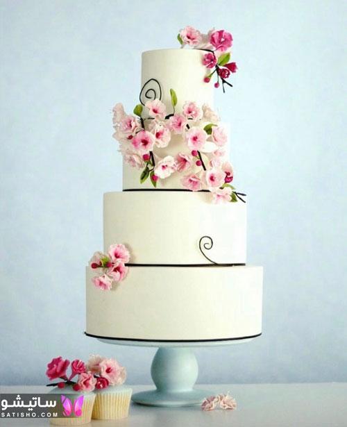 عکس زیباترین کیک تولد دخترانه و زنانه