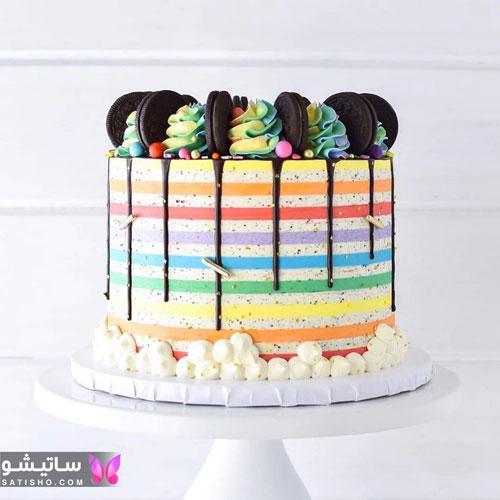 ایده برای تزیین کیک تولد خانگی