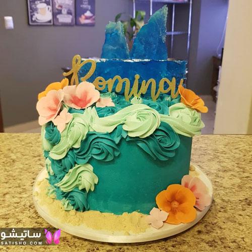 تصاویر کیک تولد شیک و لاکچری