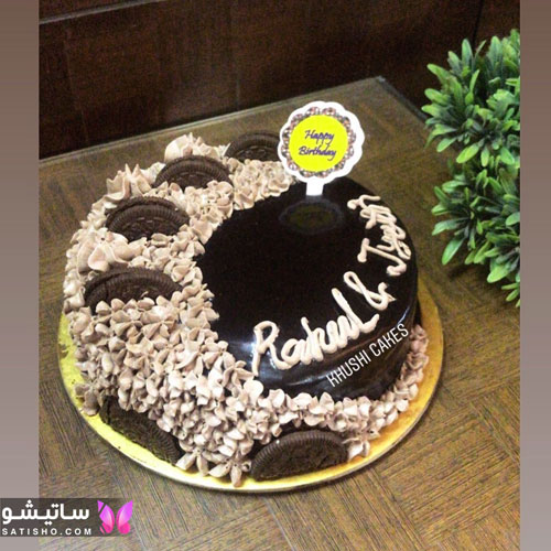 کیک تولد خانگی برای همسر
