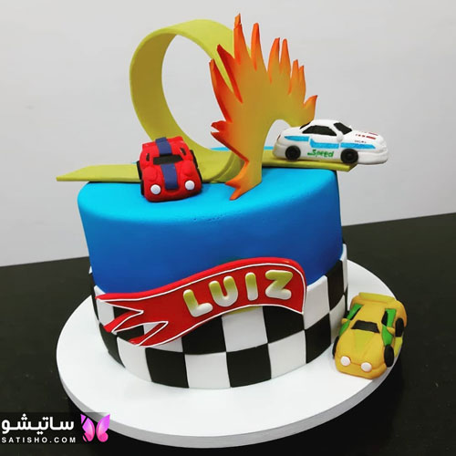 دیزاین کیک تولد پسرانه