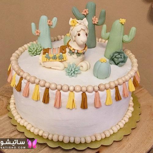 مدل های جدید کیک تولد دخترانه و بچه گانه