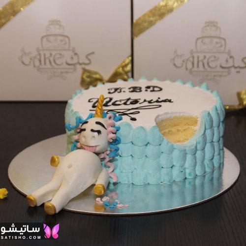 کیک تولد دخترانه با طرح های جالب