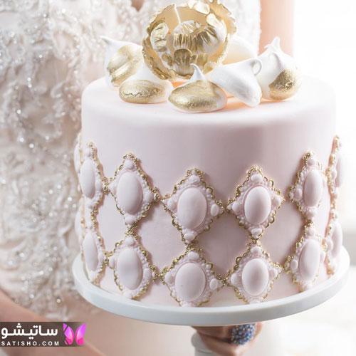 کیک تولد دخترانه لاکچری 98 جدید
