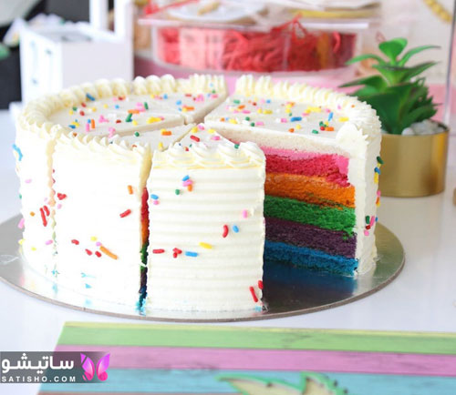 تصاویر مدل کیک تولد دخترانه 98