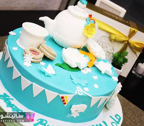 کیک تولد دخترانه فانتزی