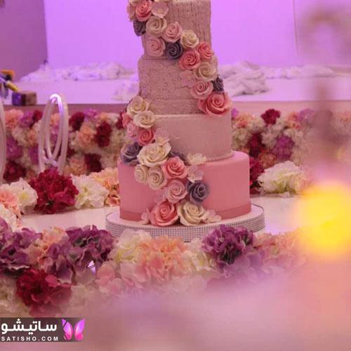 کیک تولد بسیار خوشگل و لاکچری دخترانه