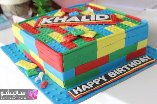 عکس کیک های شیک برای جشن تولد دخترانه