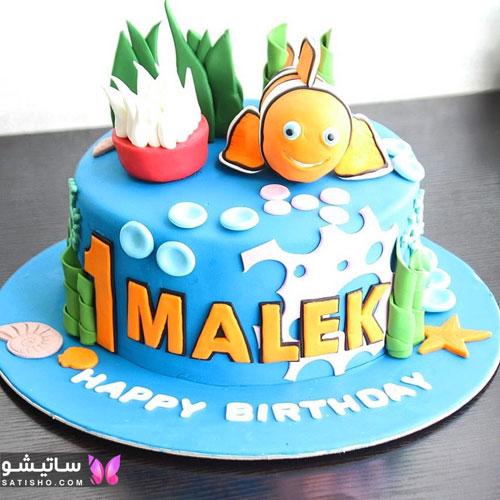 نمونه های زیبای کیک تولد دخترانه