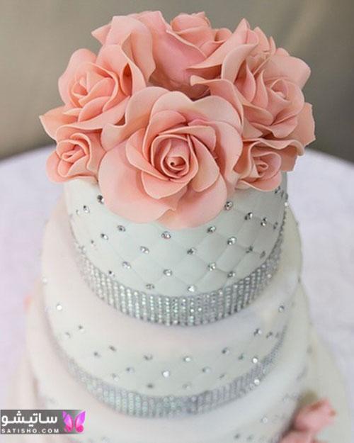 نمونه کیک تولد دخترانه جوان