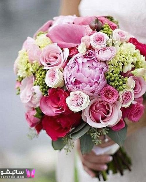 مدلهای جدید دسته گل عروس