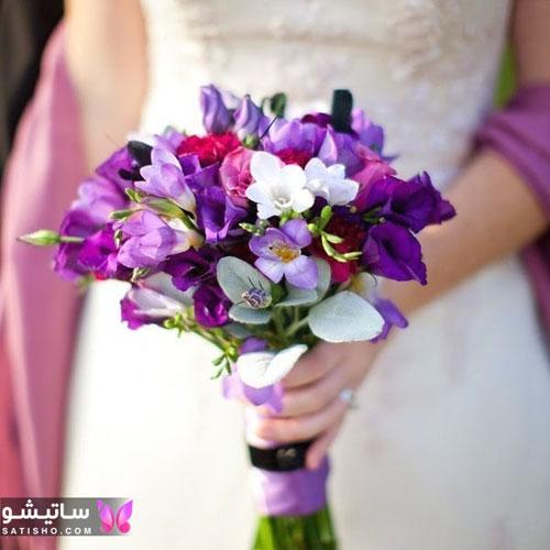 لاکچری ترین دسته گل عروسی اروپایی