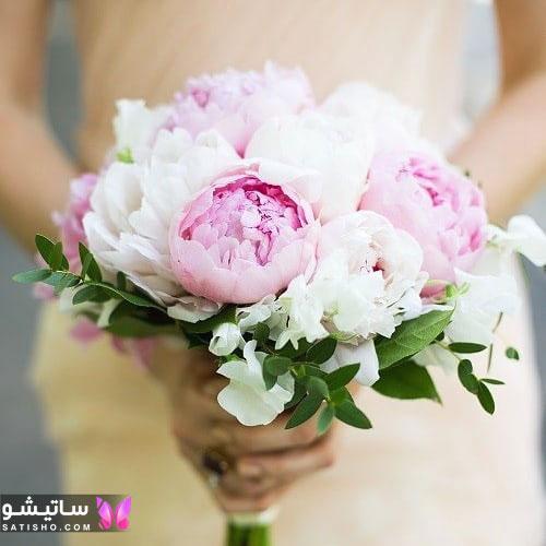 مدل دسته گل عروس ساده