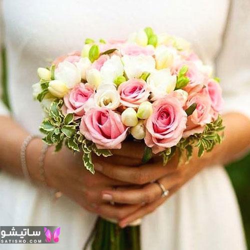 دسته گل عروسی اروپایی 2019 جدید